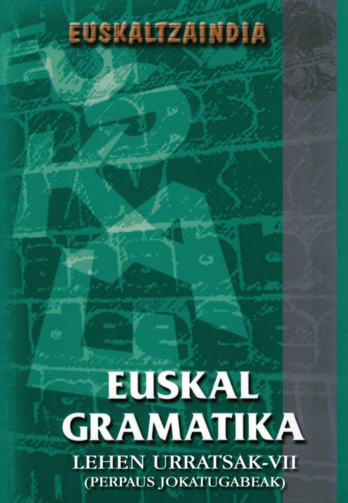 Euskal gramatika urratsak 7