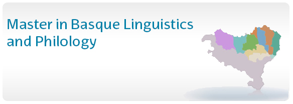 Master in Basque Linguistics and Philology