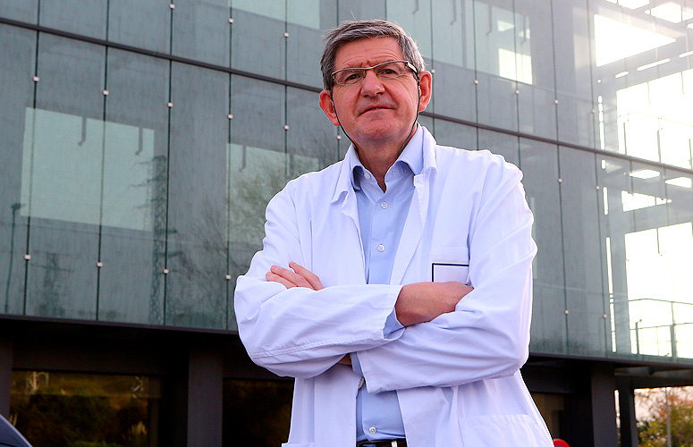 Luis Bujanda, Professor of Medicine at the University of the Basque Country. Photo: UPV/EHU