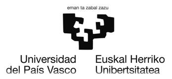 University of the Basque Country logo