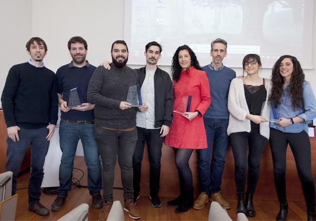 Enpresas premiadas en la edición VII de los Premios Abiatu