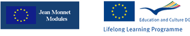 Logo: Jean Monnet Modules and Lifelong Learning Programme