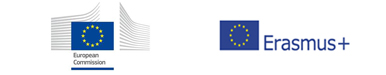 Logo: European Comission and Eramus +