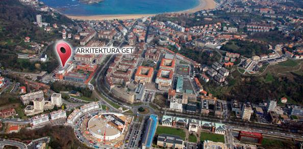 Mapa del campus upv ehu - Escuela superior de arquitectura de san sebastian ...