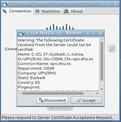 Please respond to Server Certificate Acceptance Request: Accept